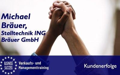 Interview mit Michael Bräuer, Firma Stalltechnik ING Bräuer GmbH