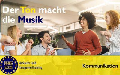 """Der Ton und die Harmonie macht die """"Musik"""""""